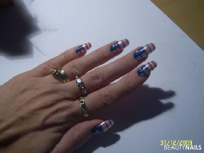 Nägel für Silvester