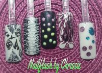 Nailart Gel Nägel Nageldesign