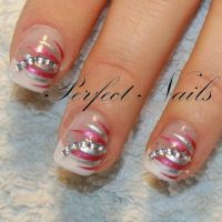 Nailart mit Creativ Sticker Nageldesign
