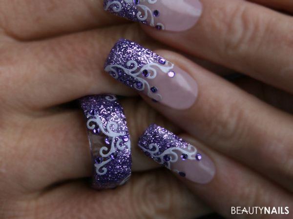 Geln gel beispiele bungen bungshand bungsfinger for Nailart muster