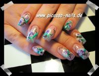 One Strokefieber :-) Nageldesign