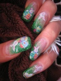 Ostern Nägel / Naildesign Nageldesign