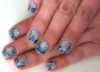 Petrol Nageldesign