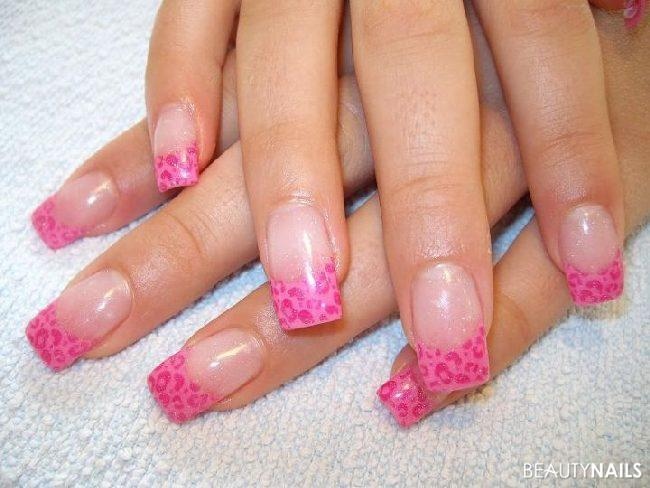 Pink Leo ;o) Nageldesign -  Nailart
