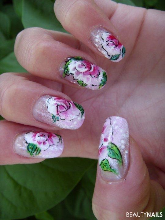 Sommer-Style mit Acrylfarben