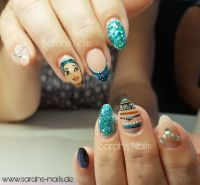 Pocahontas Nails Nageldesign
