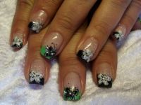 schmetterlinge Nageldesign