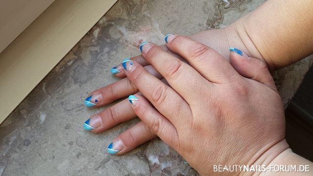 50+ Blaue Nu00e4gel Bilder Mit Nailart - 2018