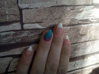 Spitze Form French Nails Nageldesign