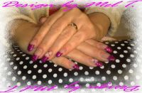 Think Pink! ;) Nageldesign