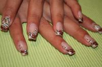 Tiger Nageldesign