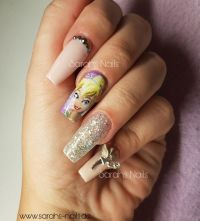 Tinkerbell Press on Nails Nageldesign