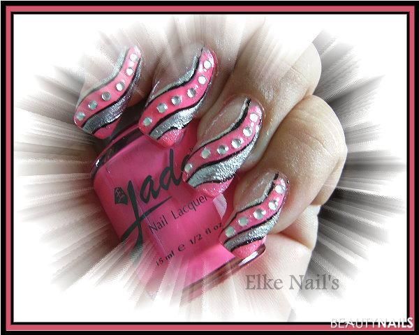 Waves Nageldesign -  Nailart