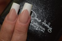 White french - klassisches Design Nageldesign