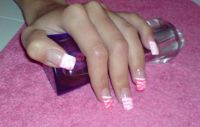 wieder mal was in PINK =) Nageldesign