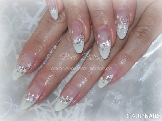 winter mandeln :) Nageldesign