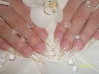 Brautnägel Stilettos