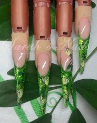 Grüne Stilettos Stilettos