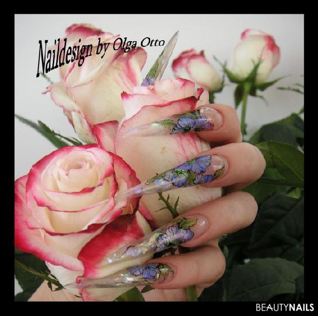 meine Sommer Nägel