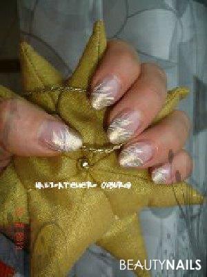 Gold mit weiß