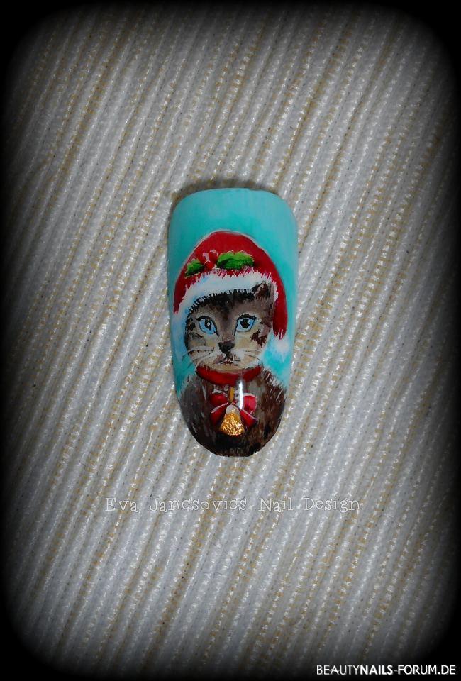 Weichnachten Katze Winter & Weihnachten
