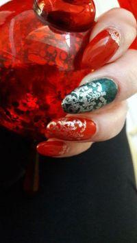 Weihnachtlich Ornamente in rot / grün Winter & Weihnachten