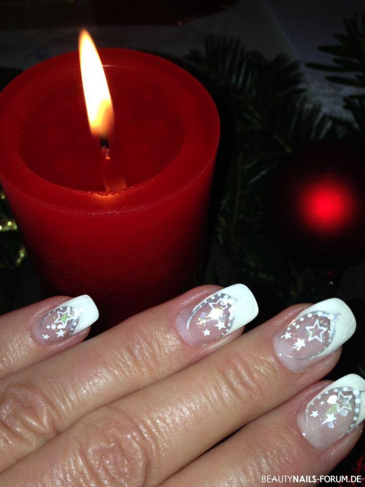 Winternägel & Weihnachtsnägel - 50+ Nageldesign Bilder 2018 - Winter ...
