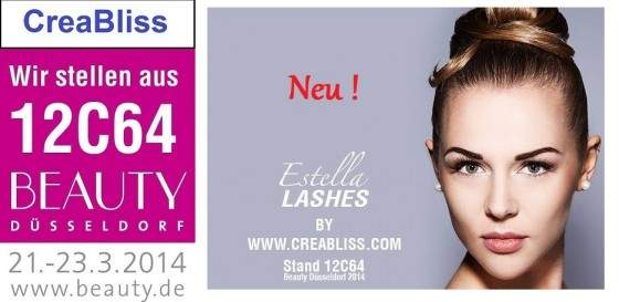 "Beauty Messe Düsseldorf ""Estetik"" - Soest & CreaBliss in Online-Shop"
