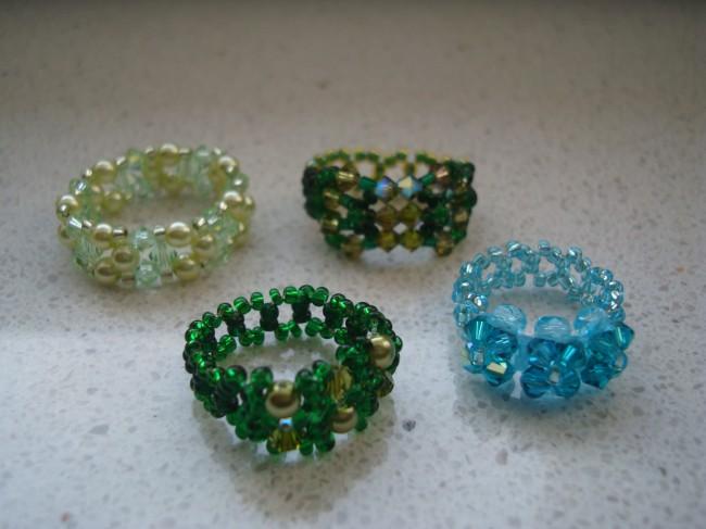 Basteln Mit Perlen Ringe Atellens