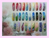 Level1 One Stroke Seminar 06 06 -07 06 15 Wuppertal in Nailart Kurse