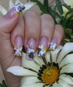 sommerliche One Stroke Malereien in Nageldesign & Modellage Anleitungen