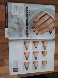 1 French mit magnet gel lack von Marina Funk in Nageldesign & Modellage Anleitungen