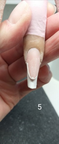 5 Modellage mit polygel von Marina Funk in Nageldesign