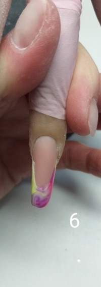 6 Modellage mit polygel von Marina Funk in Nageldesign