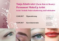 x Permanent Make up in Kosmetik / Mode