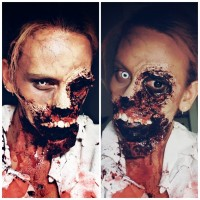 Halloween 2019 - mein Make Up Halloween 2019 - als was wart ihr verkleidet? in Small Talk