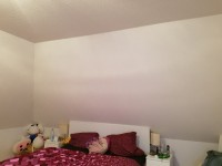Wand überm Bett Schlafzimmer umgestalten in Small Talk
