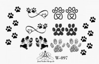 Dog Verlosung - Online-Shop Sticker Nageltattoos Steinchen in Online-Shop