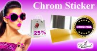 Aktionscode: Chrom Sticker 25% Rabatt vom 26/04  - 01/05/2016 auf Chrom Sticker in Online-Shop
