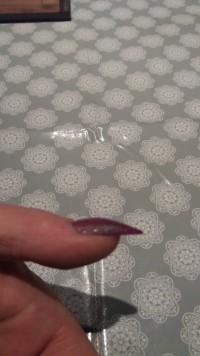 Seitenansicht Acryl Modellage in Anfänger Nageldesign