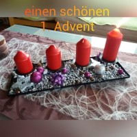 1. Advent Advent Advent ein Lichtlein brennt in Small Talk