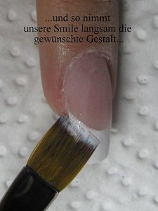 3 Frenchnägel Anleitung - Dramatic in Nageldesign