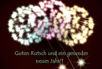 Guten Rutsch Merry X-Mas and a happy new Year in Small Talk