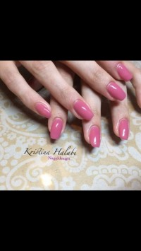 Fullcover in meiner Lieblingsfarbe Schulung bei Hellbabe in Nailart Schulung
