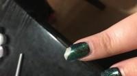 Nach dem Unfall... Mein 1  mal genagelt - Nagel abgebrochen gewesen in Anfänger Nageldesign