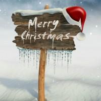 Xmas Frohe Weihnachten in Small Talk