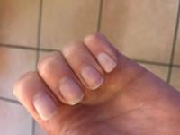 Meine kurzen Nägel Laveni Fiberglasgel ohne Aufbau modellieren in Anfänger Nageldesign
