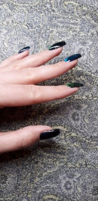 Aufbau Cat Eye in Anfänger Nageldesign