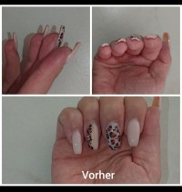 Vor dem Workshop Lyni Acrylgel Workshop in Nailart Kurse