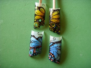7. Schmetterlinge / Butterfly Nailart Schmetterling Nailart Anleitung (Bilder) in Nageldesign & Modellage Anleitungen